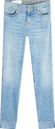 Roxanne Cropped Skinny Jeans