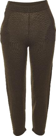 Haris Pants In Super Fine Wool And Cashmere