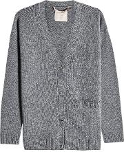 Harlow Cardigan In Wool And Cashmere
