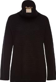 Hattie Turtleneck Pullover With Superfine Wool And Cashmere