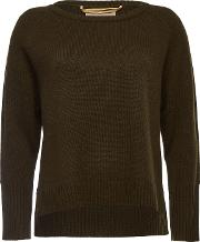 Helaine Pullover In Superfine Wool And Cashmere