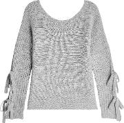 Pullover With Superfine Wool And Cashmere