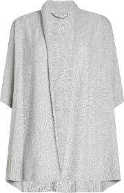 Wool And Cashmere Open Cardigan