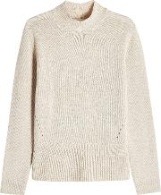 Wool And Cashmere Turtleneck Pullover