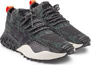F2 Tr Primeknit Sneakers With Suede And Mesh