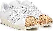 Superstar Leather And Cork Sneakers