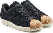 Superstar Suede And Cork Sneakers