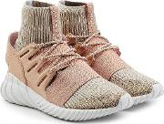 Tubular Doom Sneakers With Leather