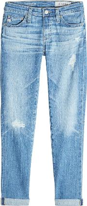 Rolled Up Crop Jeans