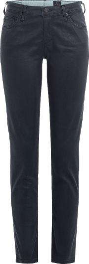 The Legging Ankle Coated Skinny Jeans