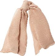Scarf With Cashmere And Silk