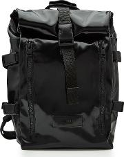 Ami Patent Backpack With Fabric Straps