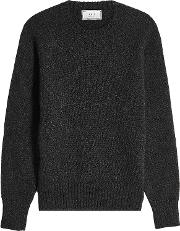 Pullover With Alpaca And Merino Wool