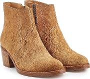 Anna Suede Ankle Boots