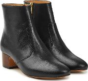 Joey Leather Ankle Boots
