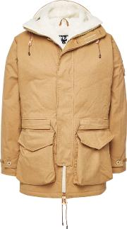 Fury Master Cotton Parka With Wool