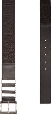 Belt With Leather