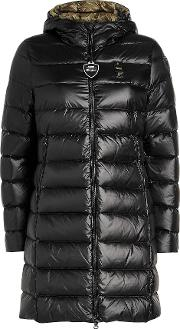 Impermeable Quilted Down Coat