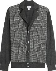 Cardigan With Silk, Wool And Cashmere