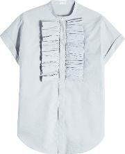 Cotton Blouse With Bow
