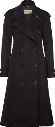 Kilbirnie Wool Coat With Cashmere