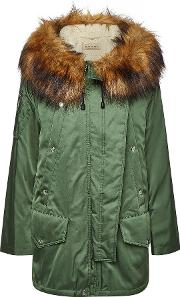 Lanfair Parka With Faux Fur