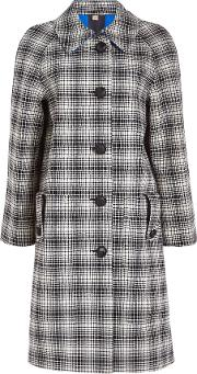 Walkden Check Wool Coat