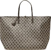 Abi Large Leather Shopper