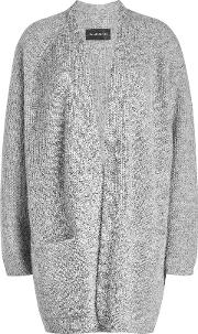 Cardigan With Wool And Kid Mohair