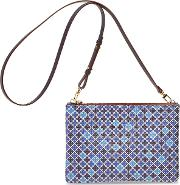 Ivy Printed Leather Purse