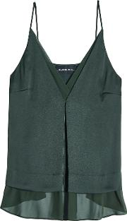 Layered Camisole With Chiffon