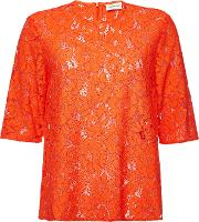 Nolao Lace Top With Cotton