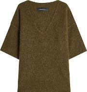 Oversize Pullover With Wool And Mohair