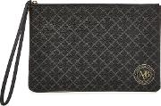 Pamelah Faux Leather Printed Pouch