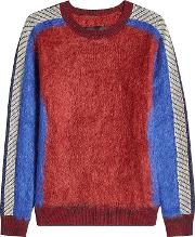 Pullover With Mohair