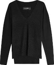 Wool Pullover With Cashmere
