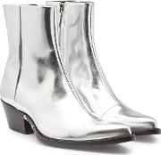 Temo Leather Ankle Boots