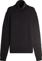 Turtleneck Pullover With Wool, Mohair And Angora