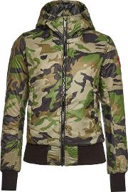 Dore Camouflage Down Jacket