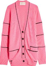 Cashmere Cardigan With Zippers