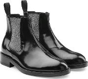 Dna Ankle Boots In Leather