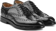 Burwood Patent Leather Brogues