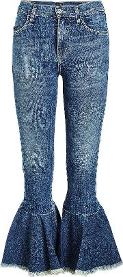 Drew Cropped Flare Jeans