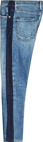 Rocket Cropped High Rise Skinny Jeans