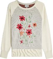 Silk Pullover With Cashmere