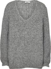 Pullover With Alpaca And Wool