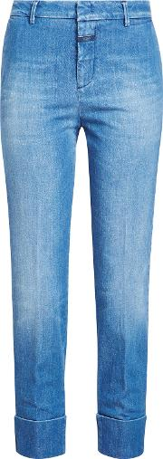 Straight Jeans With Cuff