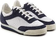 Spalwart Sneakers With Suede And Mesh