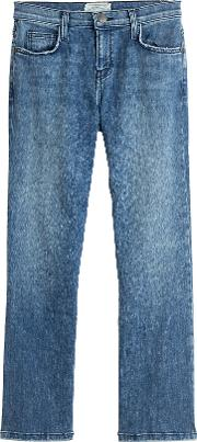 Cropped Bootcut Jeans