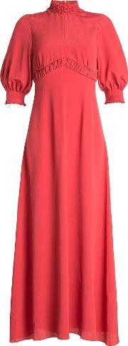 Maxi Dress With Silk